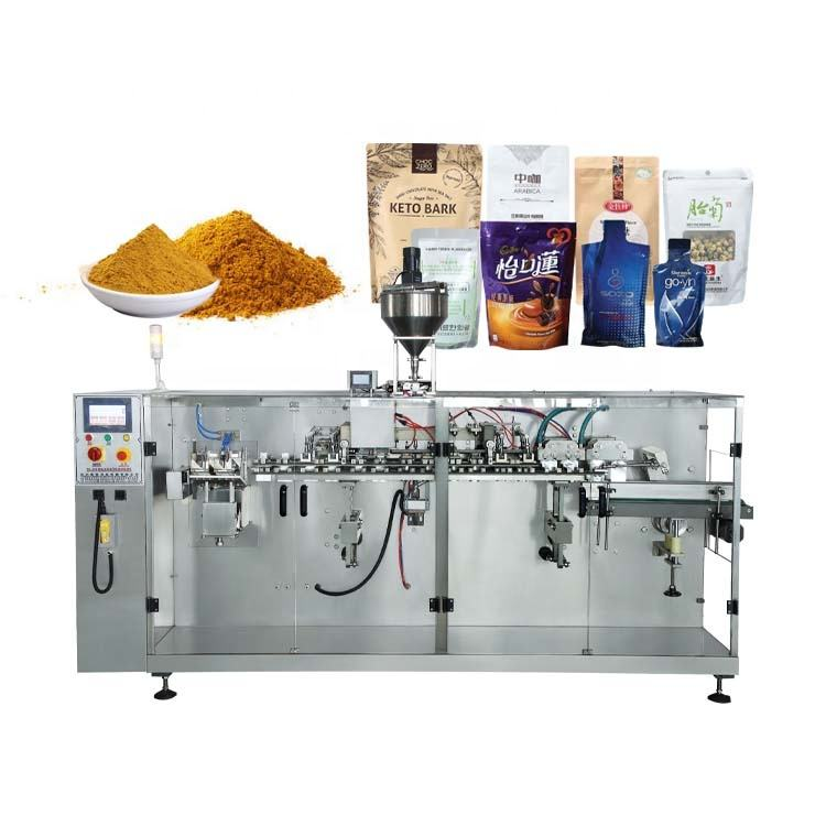 2020 New Automatic Kerala Tea Flavoring Clove Powder Packing Machine with pre-made bags zipper pouch