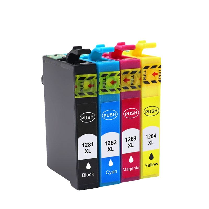 High quality T1281 T1282 T1283 T1284 ink cartridge Compatible Printer for SX125 SX130
