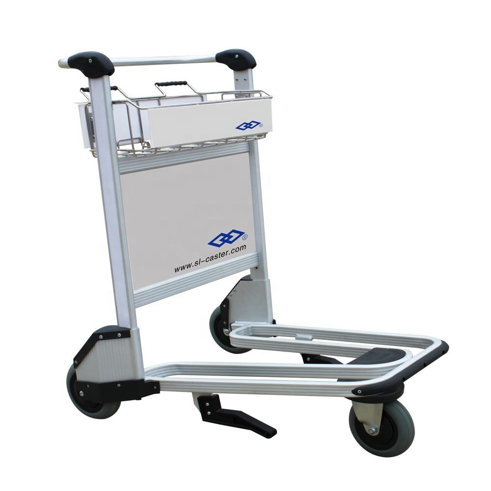 Luchthaven Bagage Trolley Aluminium Luchthaven Bagage Trolley