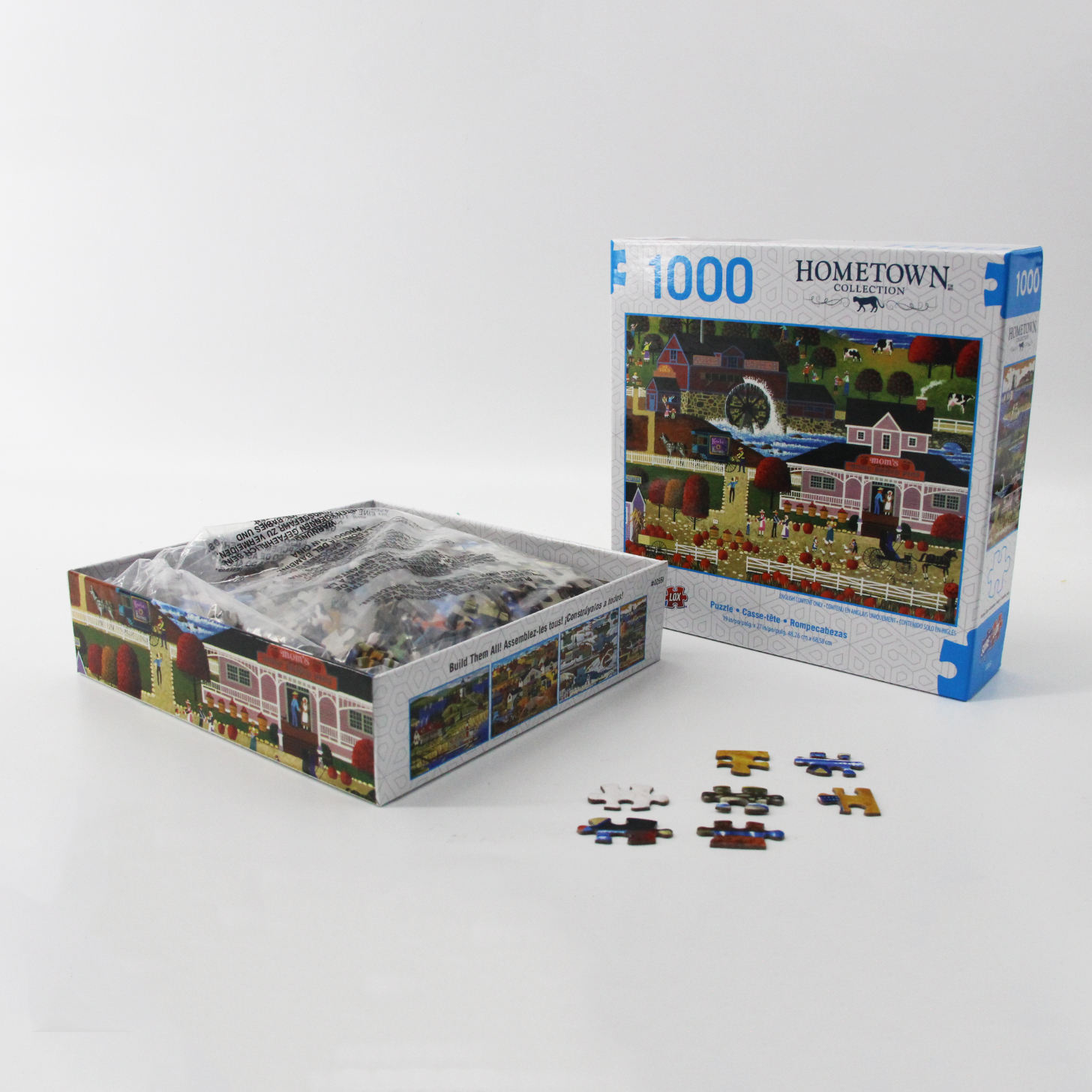 2019 Hot Map 1000 Pcs World Jigsaw Puzzle