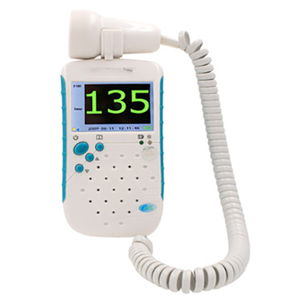 High Quality Portable FHR Baby Heart Rate Heartbeat Monitor Fetal Doppler for Home use