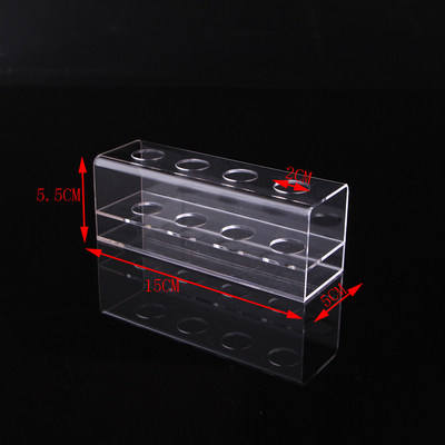 A&C Acrylic Display Stand Box Pen Holder Folder