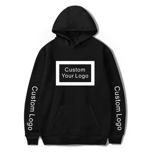 In Stock Dropshipping Street Wear Custom Sweatshirt With Hood Unisex Custom Blank Hoodies