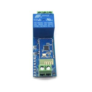 Taidacent Single Channel 12V 10A Bluetooth Relay Beralih Modul Ponsel Bluetooth Remote Control IOT Bluetooth Modul