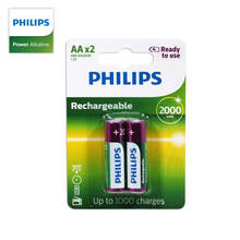Philips high performance Aa rechargeable battery 1.2v 2000mah Ni Mh battery