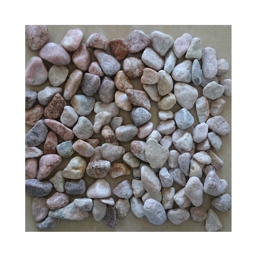 decorative landscape tumbled rock unpolished natural stone pebbles