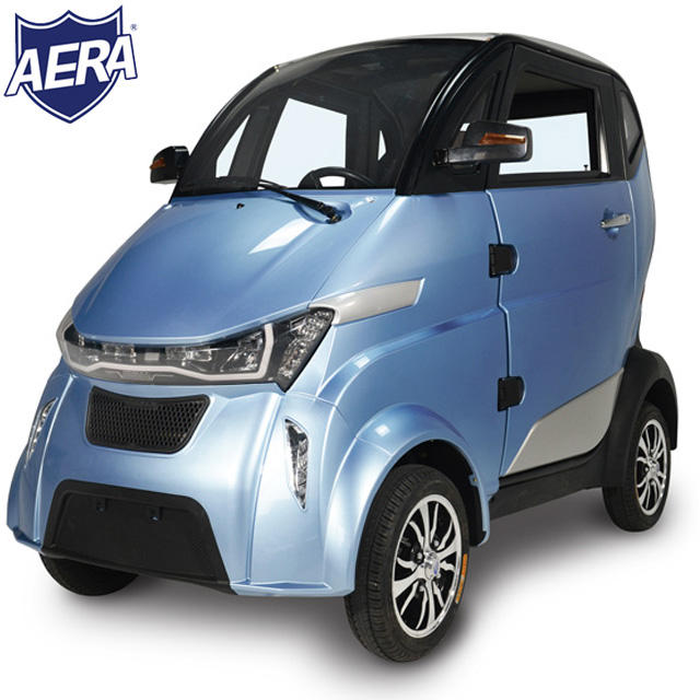 EEC L6e electric mini car 4 wheel EV micro car 2 seater strongest motor long range legal drive in Europe
