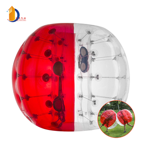 1.5M Football Gonflable DE PVC De Boule De Zorbing Family Fun Bulle De Football pour Adultes ou Enfants Activité de Plein Air