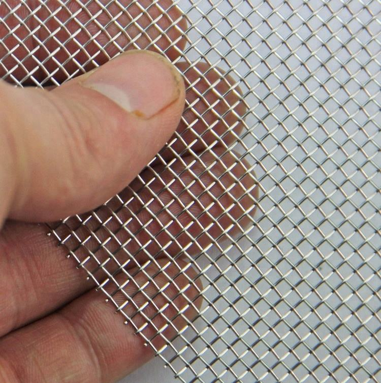 Crimped 310s stainless steel woven wire mesh net