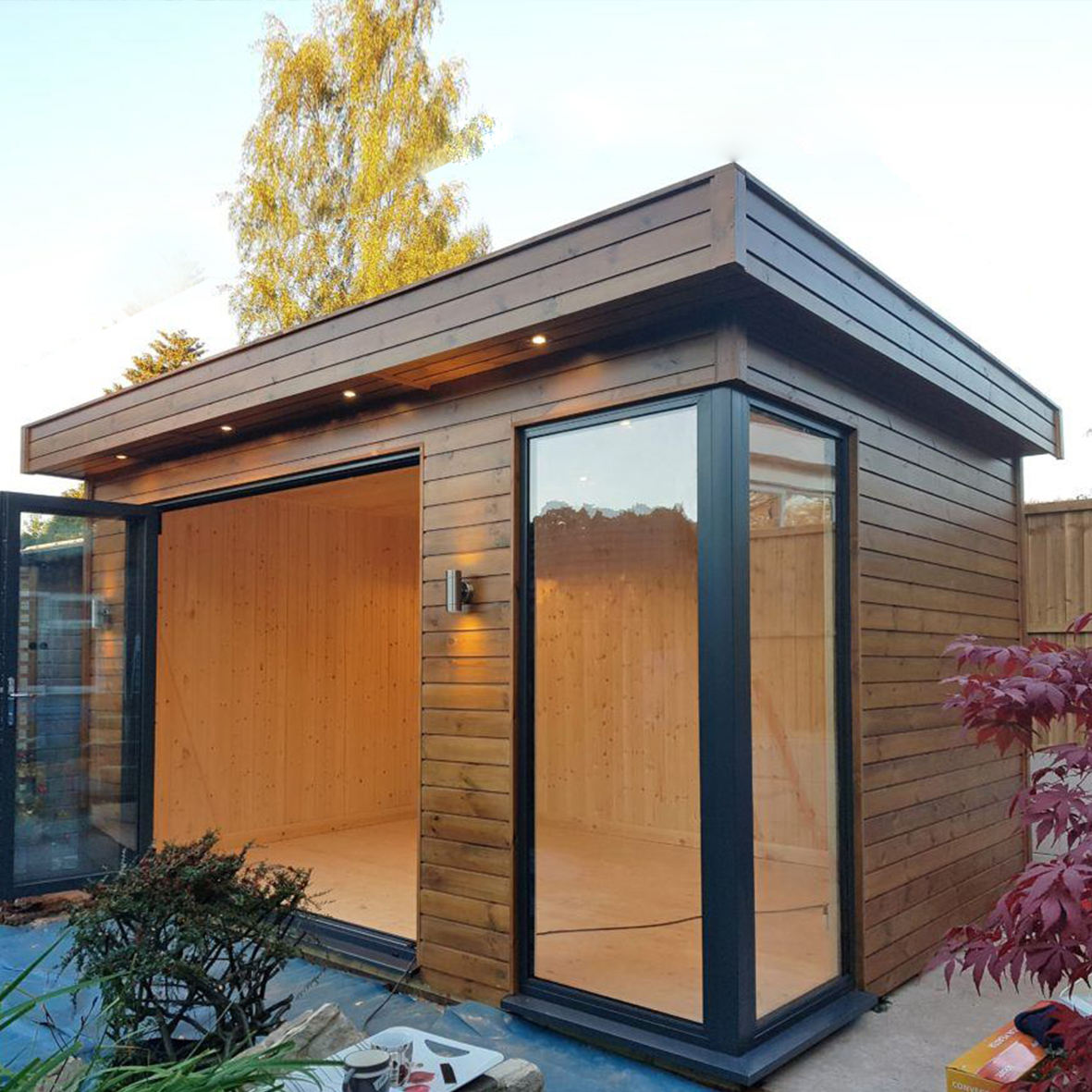 Prefab House shipping containers modular tiny wooden mobile house for sales