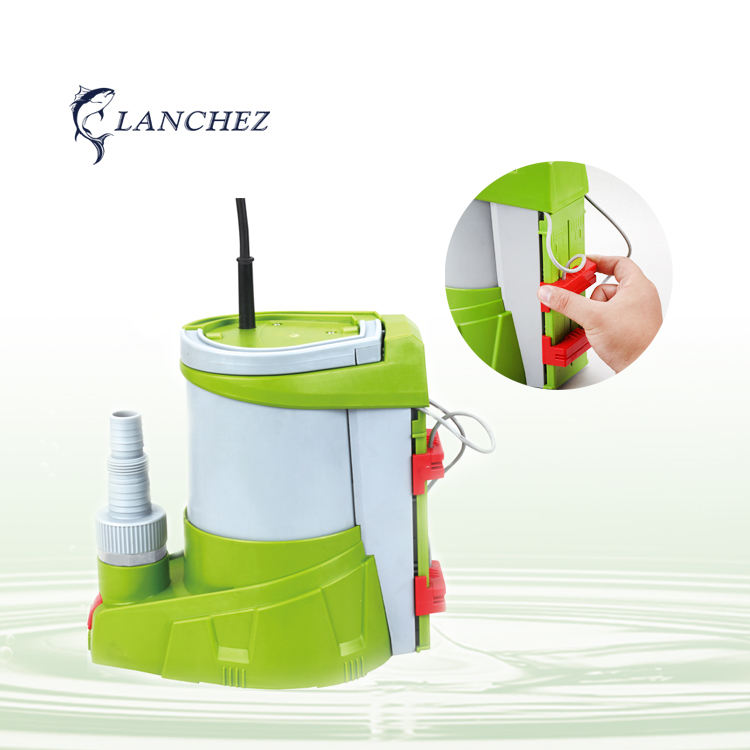 Plastic Submersible Clean Water Pump With Electronic Aqua Sensor