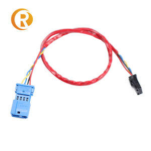 1.0mm 1.25mm 1.5mm 2.0 2.54mm 2/3/4/5/6 Pin Connector Electric Wire   Female Plug SH JST ZH PH XH Custom Cable Assembly