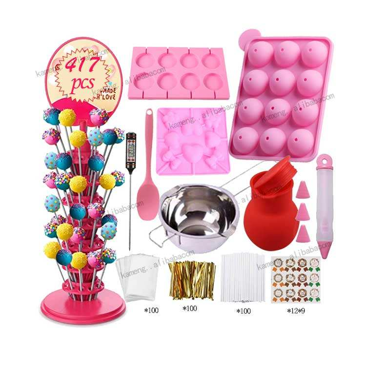 2021 New Product Lollipop Making Tools Cake Pop Stand Cakepop Baking Mold Candy Decor Tool