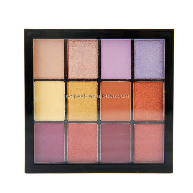 Eye Use and MSDS/ISO22716 Certification own brand eyeshadow palette