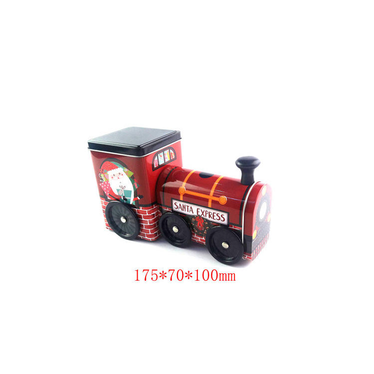 Tin Box Tin Guangzhou Tin Box Making Factory Train Shape Tin Box For Sale Candy Tin