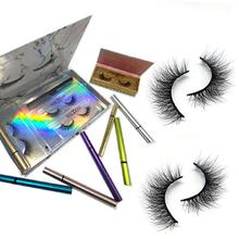 2020 New Item 2 In One No Glue Liner  Adhesive Eyeliner Apply Lashes Directly