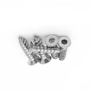China Nice Quality High Precision stainless steel Outer circle and inner hexagon Self Tapping Screws