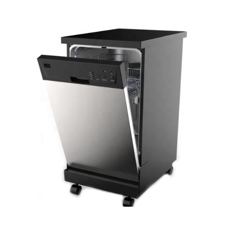 CE/CB/SAA/CSA Domestic Freestanding Dishwasher,Stainless Steel Dish Washer, freestanding Dishwasher