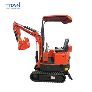 Chinese high quality cheap price 08 ton mini/small excavator mini digger farm machine
