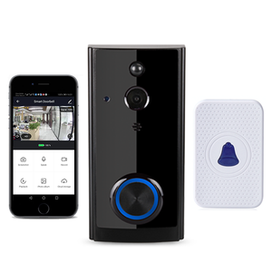 Wireless Wifi link to tuya app video door phone intercom, 1080P FHD CMOS camera, motion detection, villa home security systems