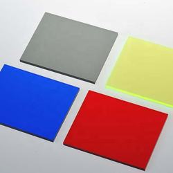 3mm - 25mm  / clear / color sheets  heat resistant/colorful plastic acrylic sheet