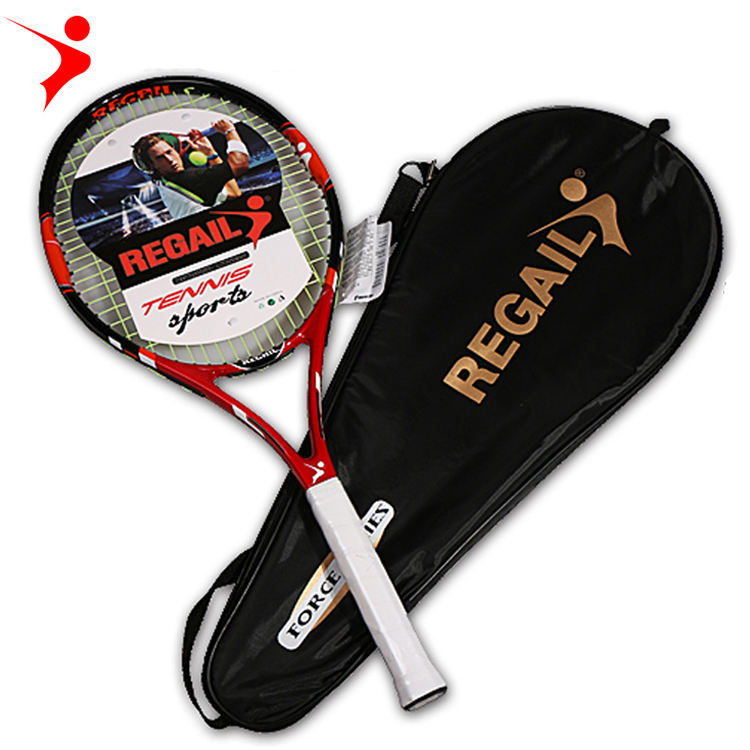 Professional Carbon aluminum alloy Tennis Racket Oem Design Your Own racket juvenile adult training Raqueta de tennis