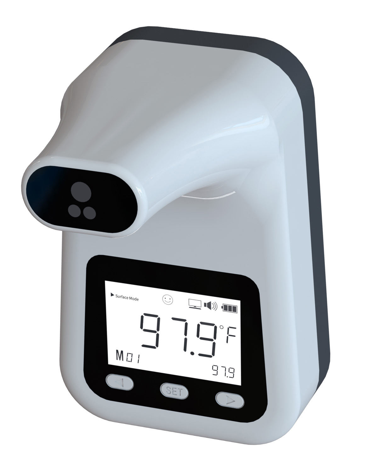 Factory direct price wall mount auto detect temperature thermometer, temperature measuring machine