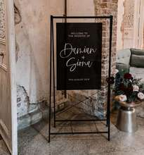 A&C Factory Acrylic Welcome Sign For Wedding