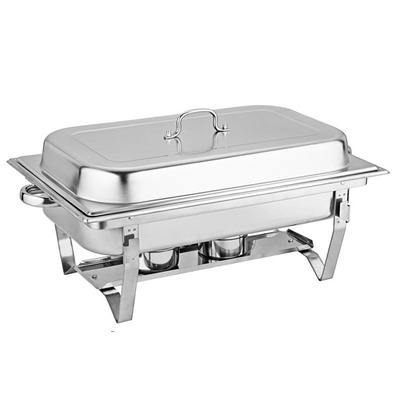 High Quality 410/201ss stainless steel buffet stove food warmers for restaurant hotel