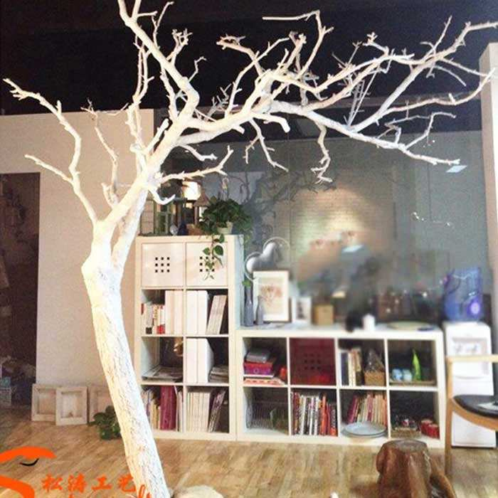 Artificial tree trunk without leaves fake dry tree branch decoration dry tree