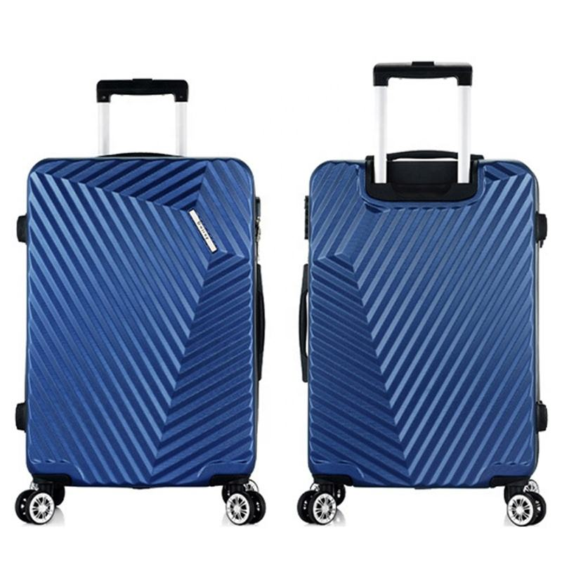 Hot sale 4 wheels 20 24 28 inches 3 pcs sets travel luggage bags on sale ABS trolley luggage baggage