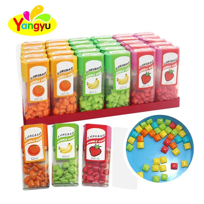 Individual Package Fruits Flavors Private Label Chewing Gum
