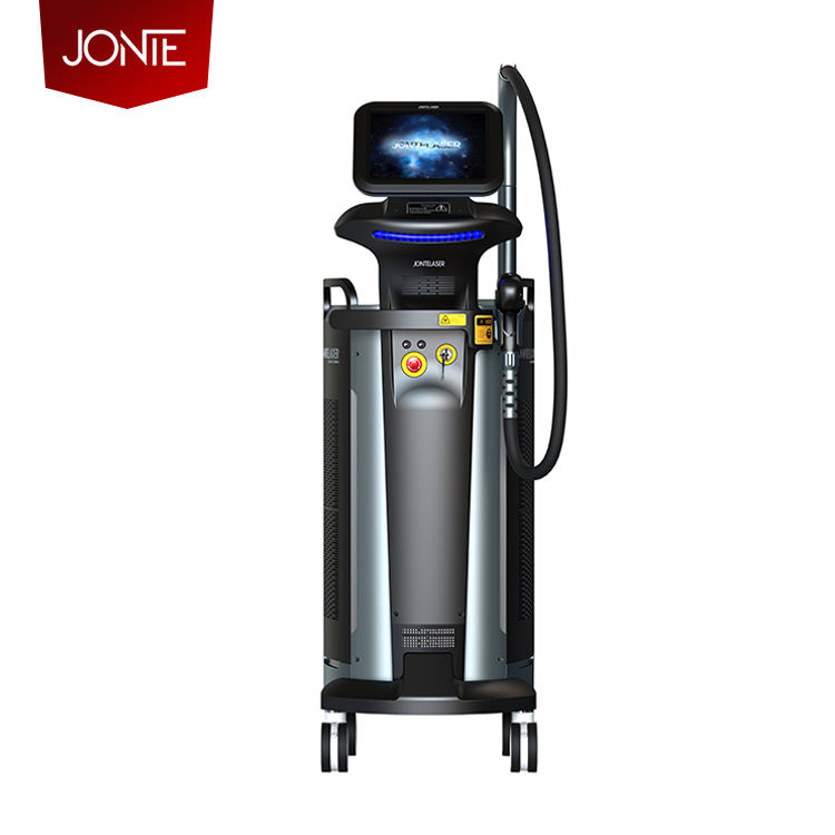 Jonte Ultimate Series 13 Handles Newest Diode Laser 808nm Hair Removal Powerful Painless Diode Laser Hair Removal