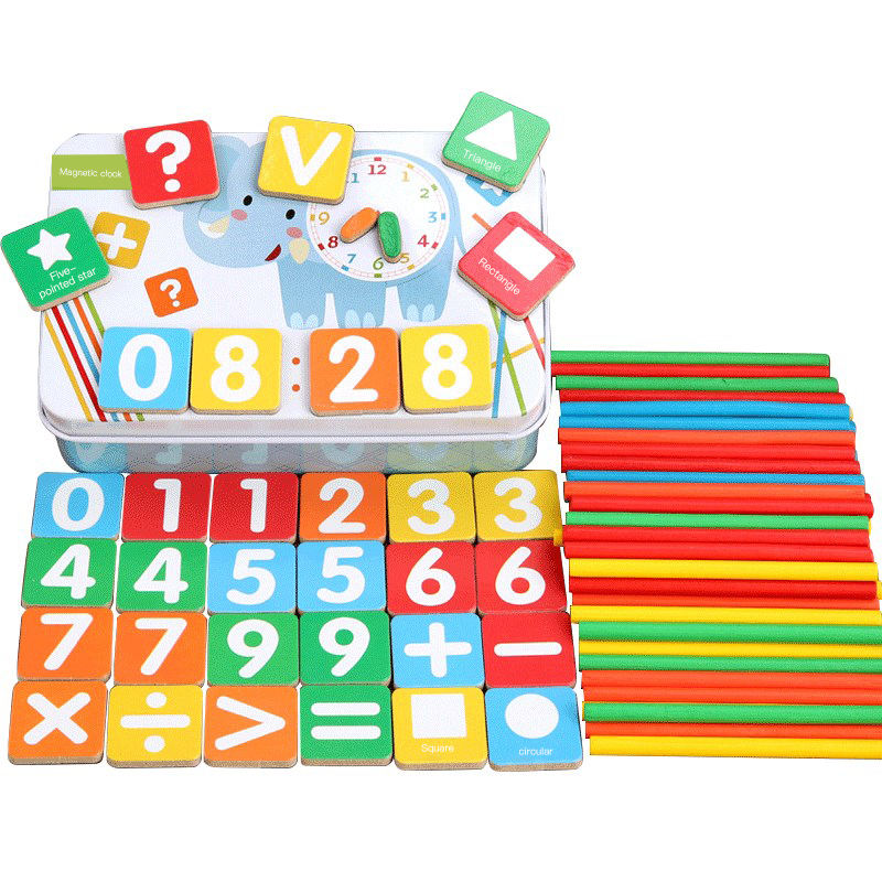 Preschool children's early education mathematics toys learning arithmetic