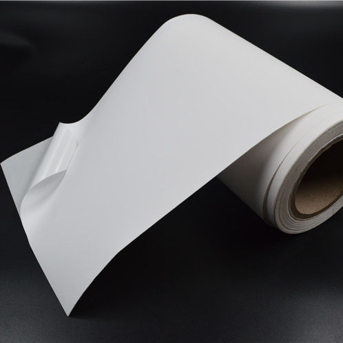 Factory price jumbo roll self adhesive inkjet gloss PP sticker paper