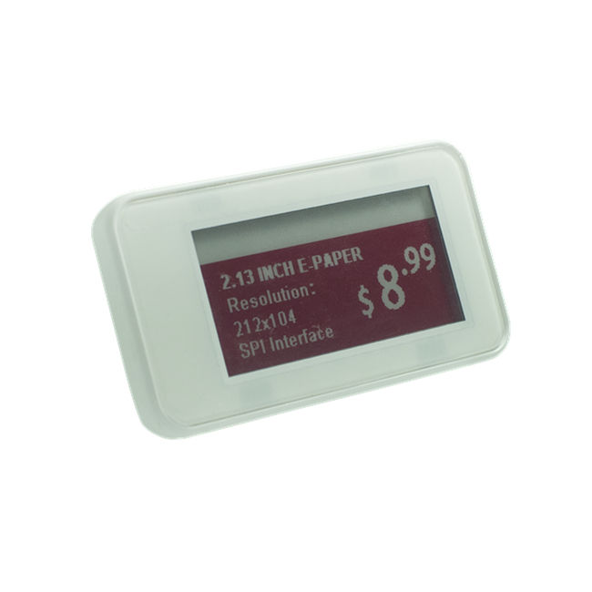 2.1 inch Epaper voor supermarkt e inkt plank label eink display