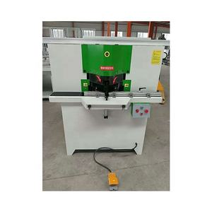 2.2kw Aluminum alloy frame double head sawing machine Electric 45 degree bevel angle cutting equipment