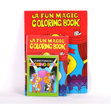 Desalen S Size Kids Magic Book Props Reveal Magic Trick Coloring Books