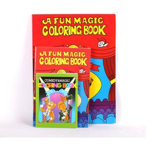 Desalen S Size Kids Magic Book Props Reveal Magic Trick Coloring Books