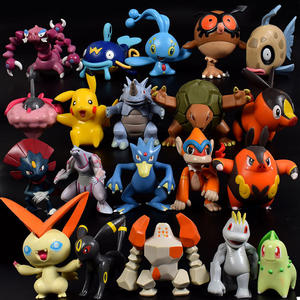 Hot Groothandel Goedkope 144 Stks/set Cartoon Anime Pokemon Mini Pvc Action Figure Model Speelgoed