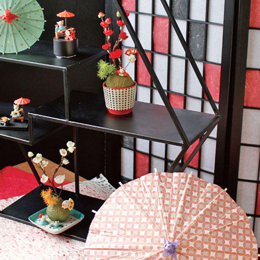 Customise cheap price umbrella art crafts with carefully handcrafted