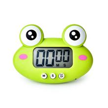 Mini Cute Frog Electrical Timer Cooking in Kitchen or Lovely Study Timer for Kids digital countdown big LCD display present gift