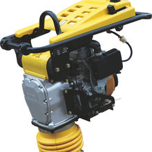 high quality vibratory compact tamping rammer with HCR70 with petrol or diesel engine
