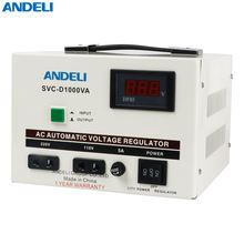 home voltage stabilizer SVC-D1000VA 1KW ANDELI group