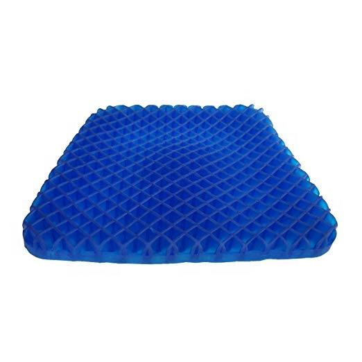 Removable And Washable [ Cushion ] Gel Seat Cushion Honeycomb Cooling Gel Egg Sitte Cushion Silicone Chair Seat Mat Cushion