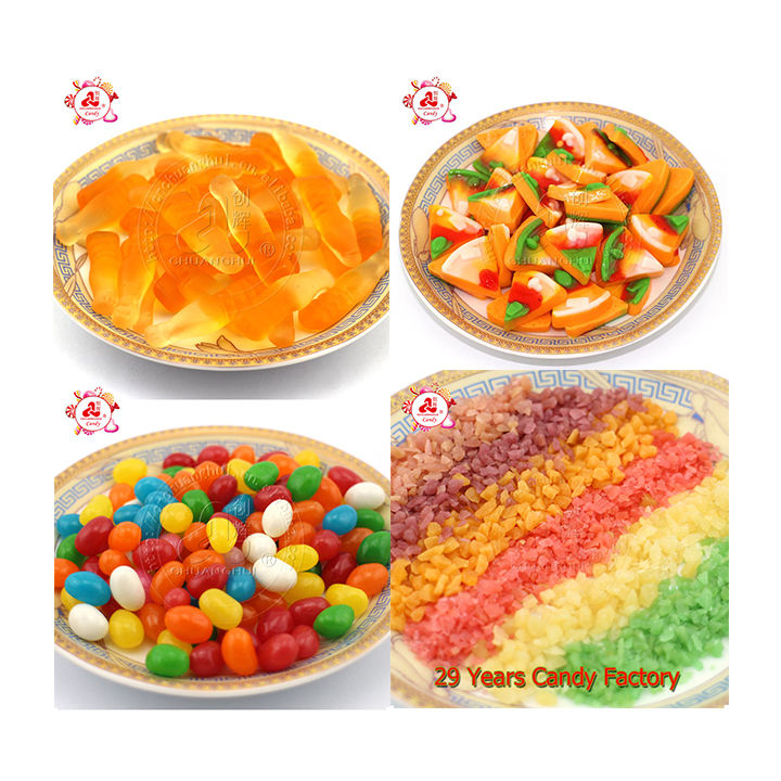 Chuanghui bulk confectionery popping jelly gummy candy in loose package