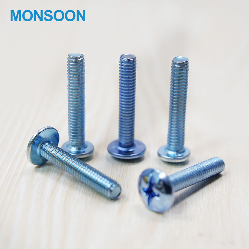 Furniture Connecting Screw 304 Stainless Steel Cross Groove Pan Head Self Tapping Screw