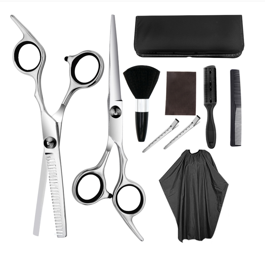 Thinning Scissors Salon Professional Barber Hair Scissors Cutting Hairdresser's Shears Hairdressing Set Styling Tool 2-7-12