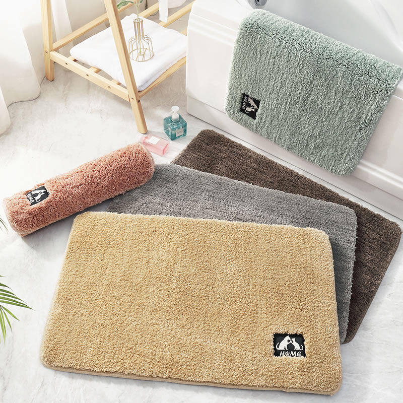 LUXURY 5 star hotel bath mats with high quality cake velvet material top luxury bath rug