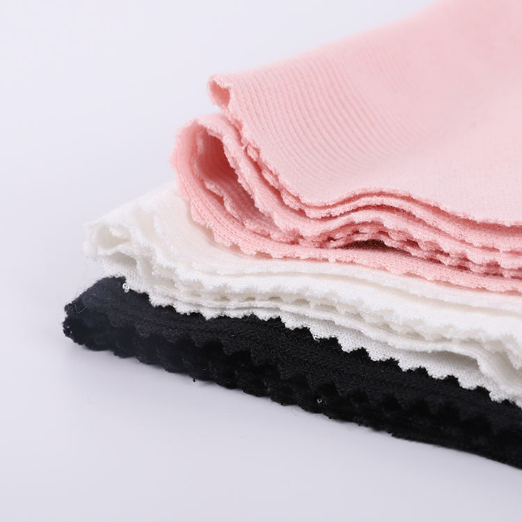 High Quality 68% Poly 30% Rayon 2% Spandex Stretch Elastic Plain Soft Drop Needle T-shirt Ribbing Fabric